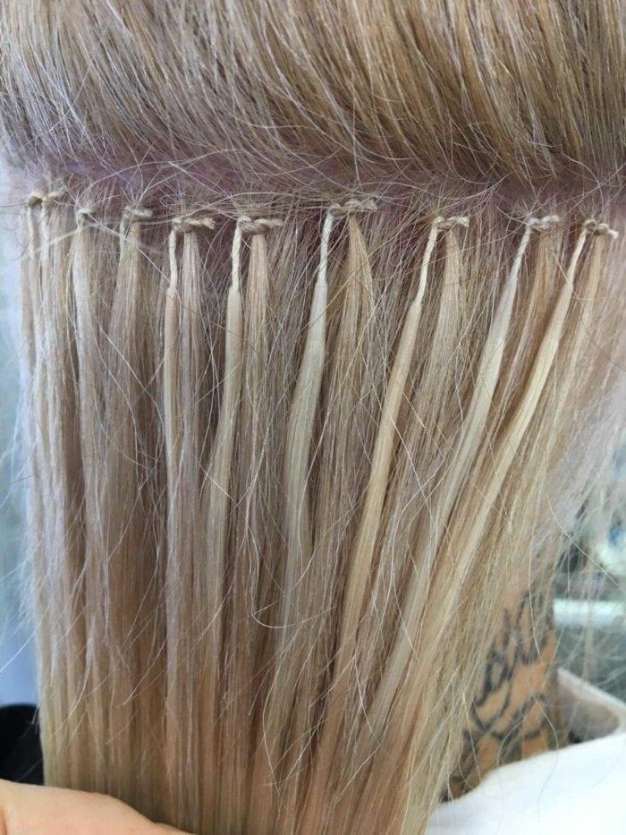 Mago-pidennykset kiinnitetään puuvillalangalla. Tekniikka ei rasita hiuksia tai hiuspohjaa. Suositeltu huoltoväli on kolme kuukautta.